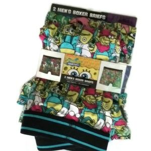 SongeBob NWT 2pk boxer briefs XL